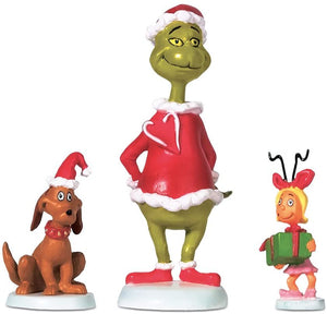 Grinch Max & Cindy Lou-Who