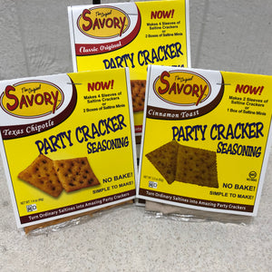 Savory Cracker Mix Set