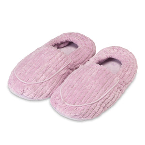 Warmies® Spa Therapy Slippers Deep Lavender