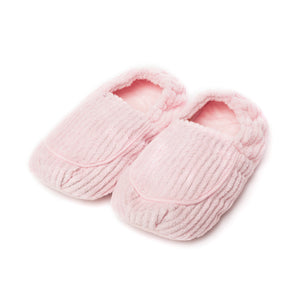 Warmies® Spa Therapy Slippers Pink