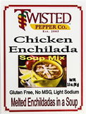 Twisted Pepper Chicken Enchilada Soup