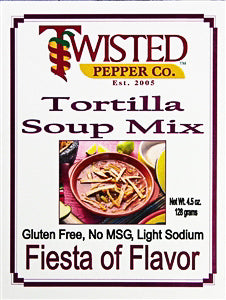 Twisted Pepper Tortilla Soup