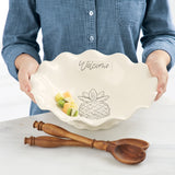 Welcome Ruffled Salad Set