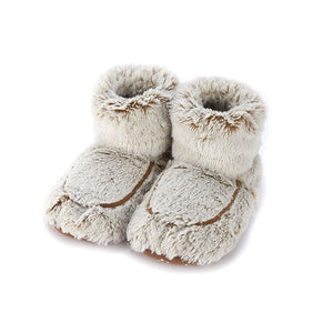 Warmies® Plush Marshmallow Boots Brown
