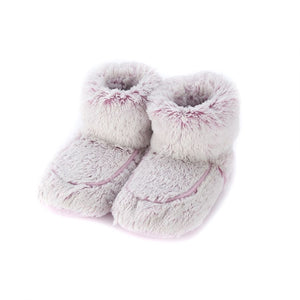 Warmies® Plush Marshmallow Boots Pink