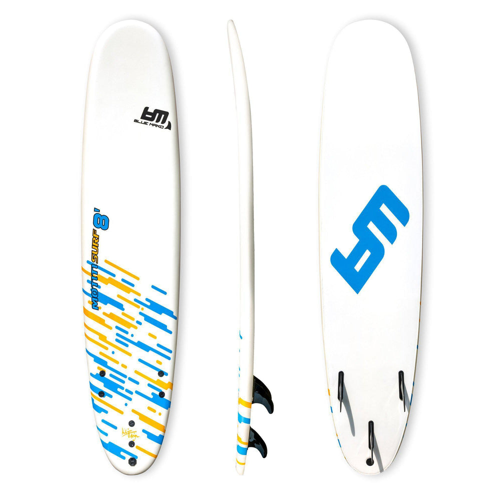soft top surfboard fin set