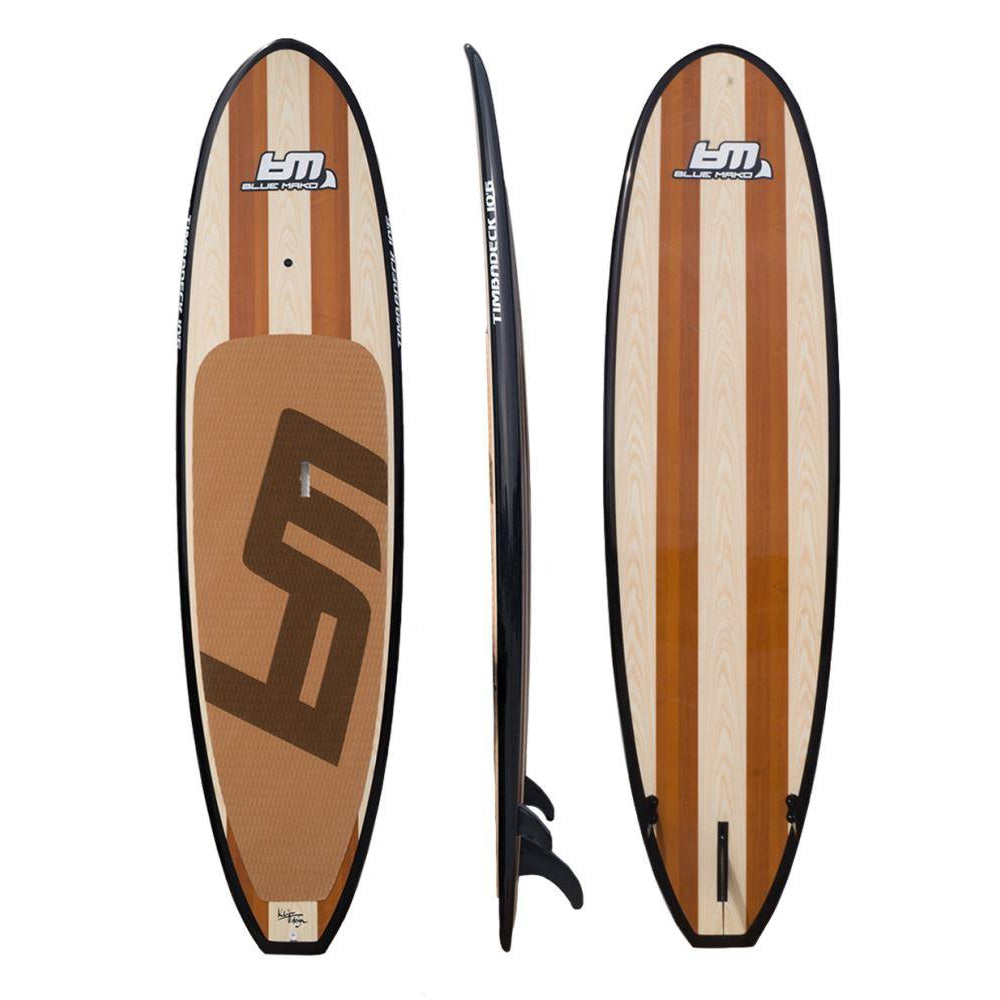 Timbadeck | wood veneer paddle-board-Bluemako