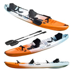 Tandem double kayak Tauranga Blue White Orange