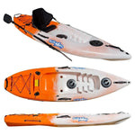 f26 | entry level kayak-orange | white