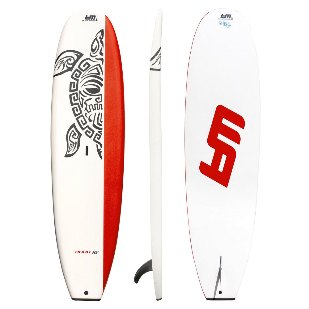 Honu | Softtop paddleboard-red-white