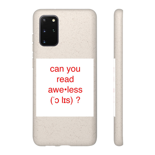 Biodegradable Case