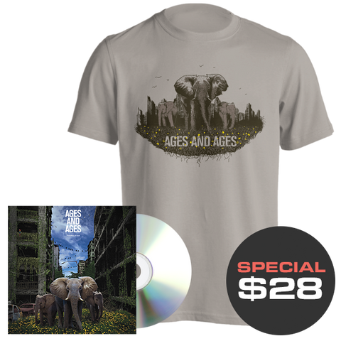 Something To Ruin CD + T-Shirt Bundle