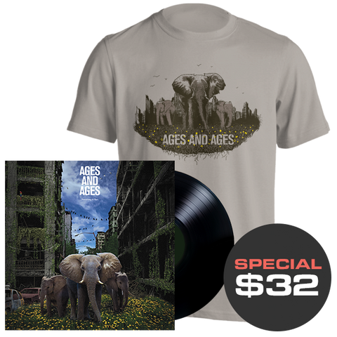 Something To Ruin LP + T-Shirt Bundle