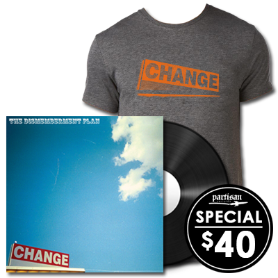 The Dismemberment Plan 'Change' LP + T-Shirt Bundle
