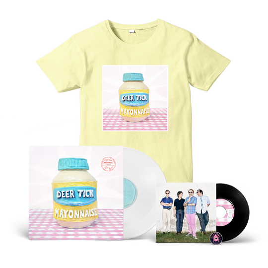 Deer Tick - Mayonnaise  LP + T-Shirt Bundle