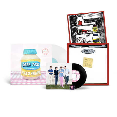 Deer Tick Deluxe Mayonnaise LP + Vinyl Box Bundle