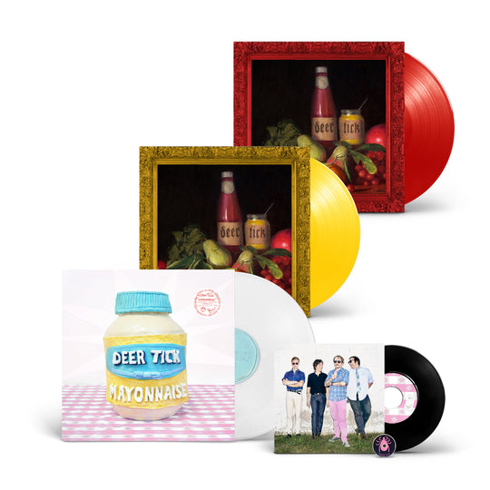 Deer Tick - Vol 1-2 & Mayonnaise LP Bundle
