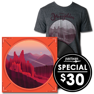 Limited Edition Field Report 'Marigolden' T-shirt + LP Bundle