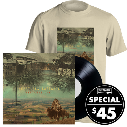 Restless Ones LP + T-shirt Bundle