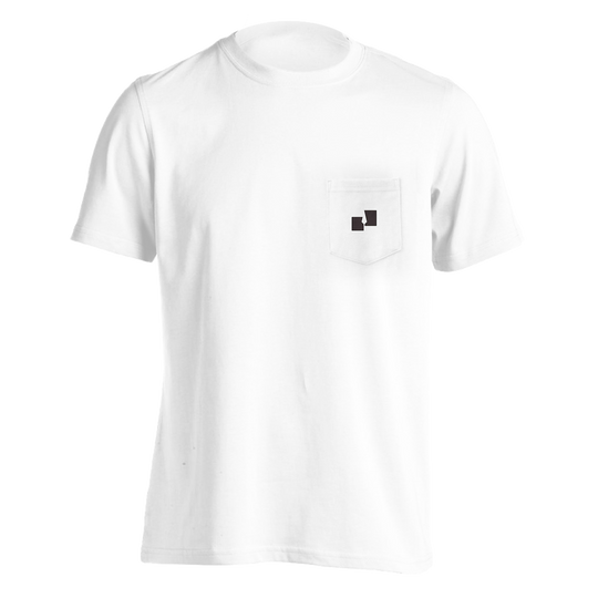 Partisan Records Pocket Tee - (White)