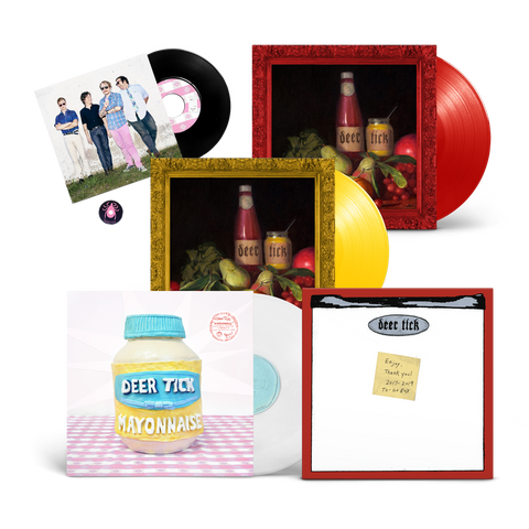 Deer Tick - Vol 1-2 & Mayonnaise + Vinyl Box Bundle
