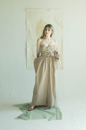 Delphin Dress in Khaki