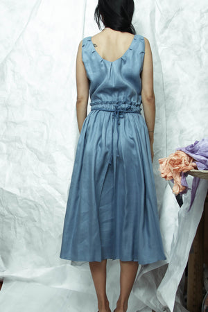 Brigid Dress in Sky