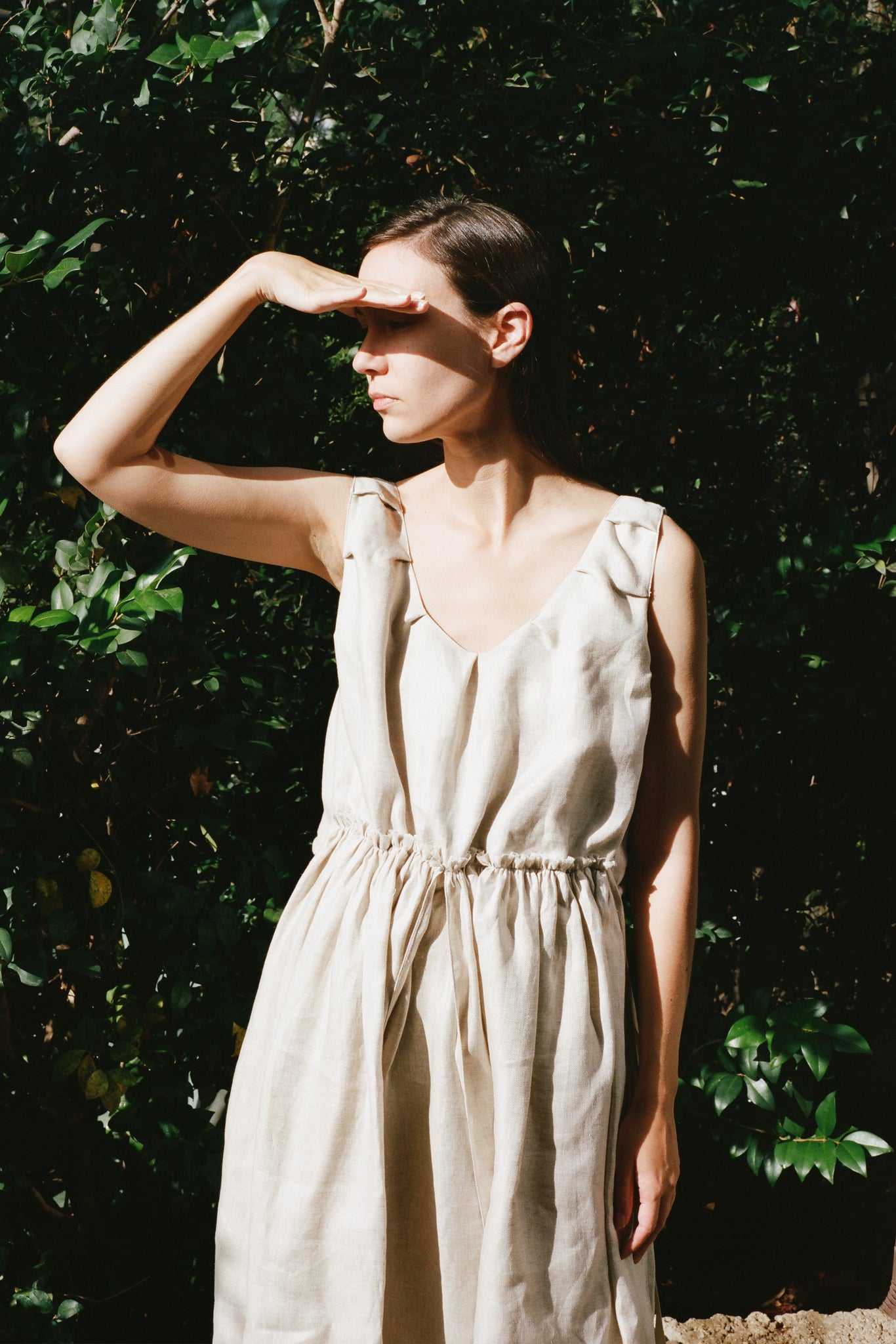 Brigid Dress in Oatmeal