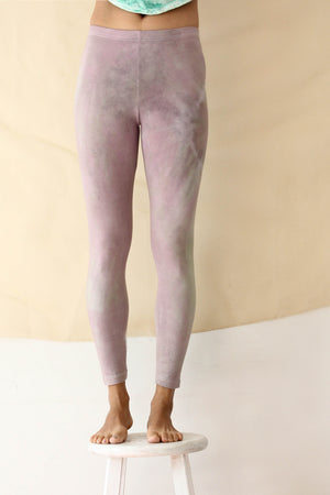 Cotton Legging in Muscat Grape