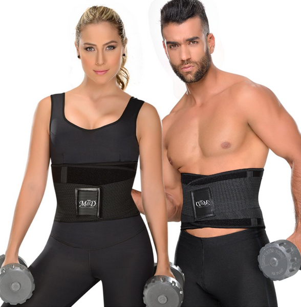 Fajas MYD 0152 Neoprene Waist Trimmer Trainer Workout Gym Belt