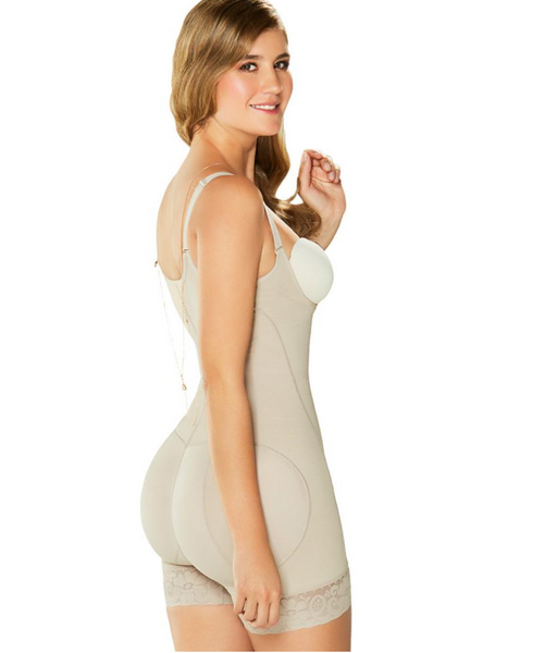 Diane & Geordi 2396 Women's Strapless Butt Lifter Shapewear / Powernet