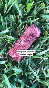Dragons blood and white sage