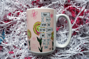 Coffee Mug for Girls, Teens, Ladies. Perfect Christmas, Birthday or Holiday Gift for Coffee Lovers. Mugs empower & inspire females to celebrate being women (with a slight nod to Wicked.) Great Stocking Stuffer for girls, teens & women. A girl like me art.