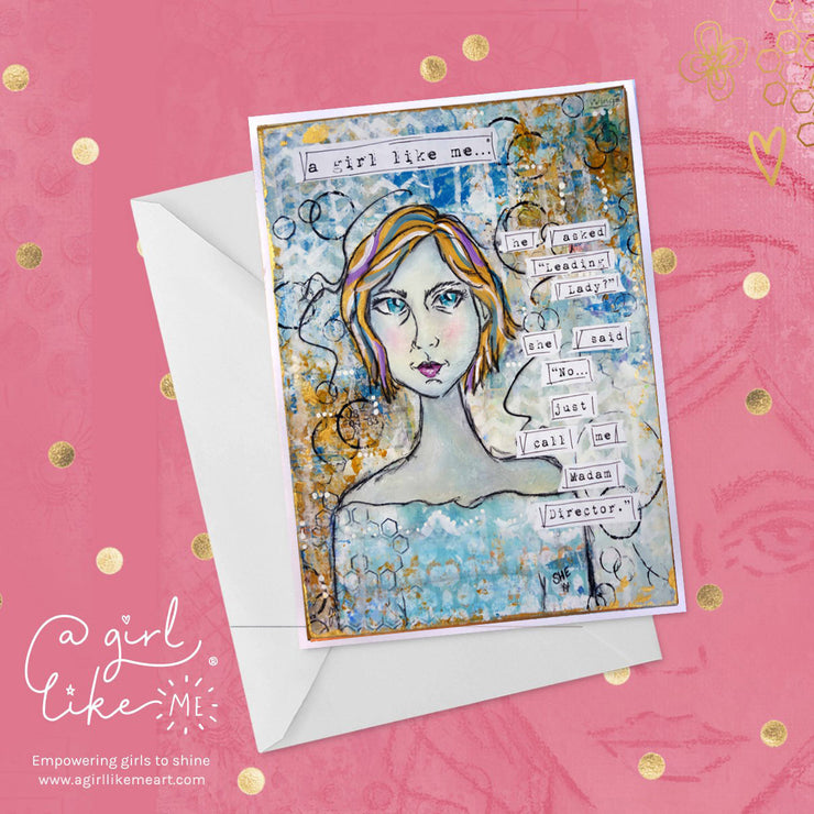 a girl like me...® director - greeting card