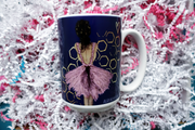 Coffee Mug for Teens, Ladies, Ballerinas or Feminists who want to destroy sexism, spread equality, & sparkle. Perfect Christmas, Birthday or Holiday Gift for Coffee Lovers. Mugs empower & inspire females to celebrate being women or ballerinas. Great Stocking Stuffer for teens & women & ballerinas. A girl like me art.