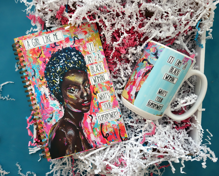 I Am A Black Woman What Is Your Superpower? - Gift Bundle