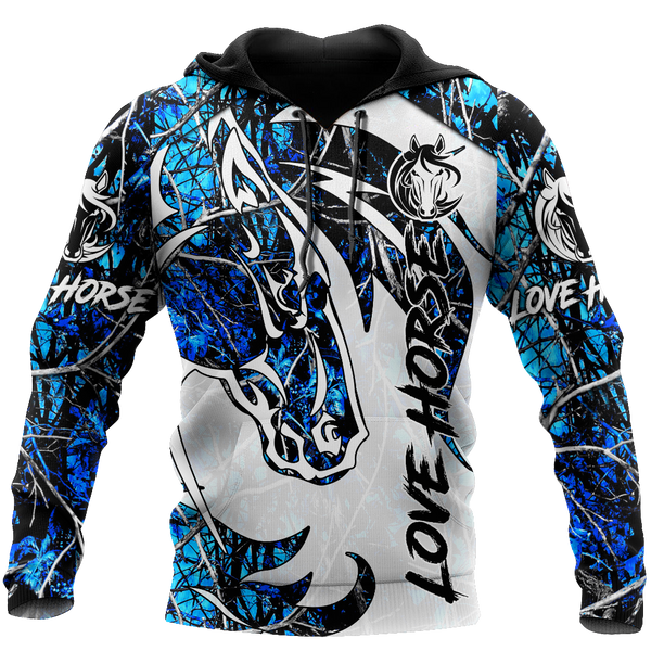 Beautiful Horse 3D All Over Printed shirt for Men and Women Pi060102