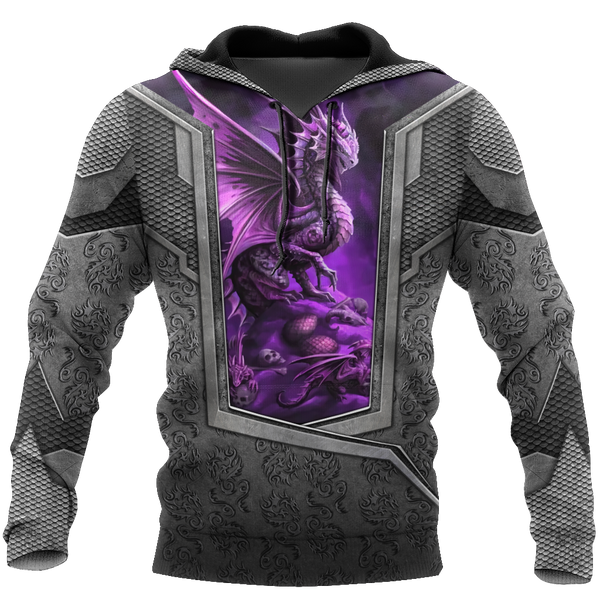 3D Tattoo and Dungeon Dragon Hoodie HAC020111