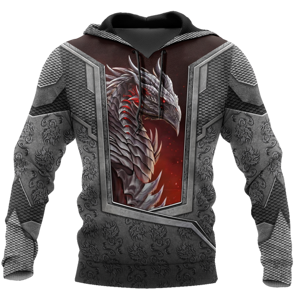 3D Tattoo and Dungeon Dragon Hoodie HAC020109