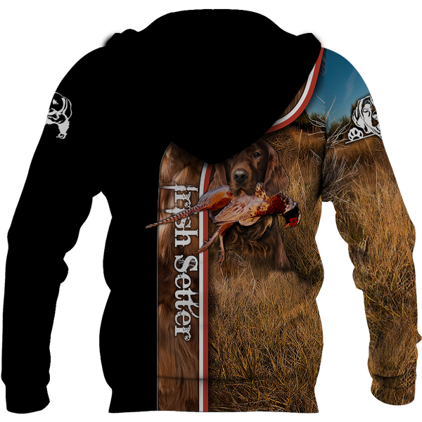 Pheasant Setter Hunting 3D All Over Printed Shirts For Men And Women JJ100201
