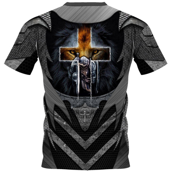 Knight Templar 3D All Over Printed Shirts MP928