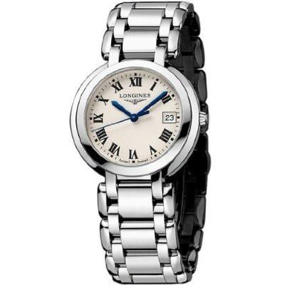 Longines PrimaLuna  Ladies Watch L81144716 - Free Shipping -  Promenade Watches