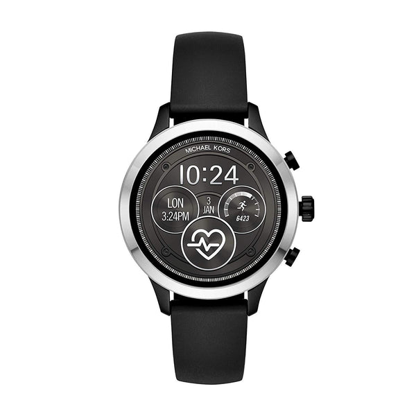 Michael Kors Access Touchscreen Smartwatch - Runway Black Silicone MKT5049