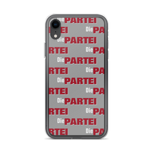 Laden Sie das Bild in den Galerie-Viewer, Die PARTEI Logo Pattern iPhone Hülle