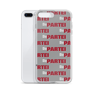 Die PARTEI Logo Pattern iPhone Hülle