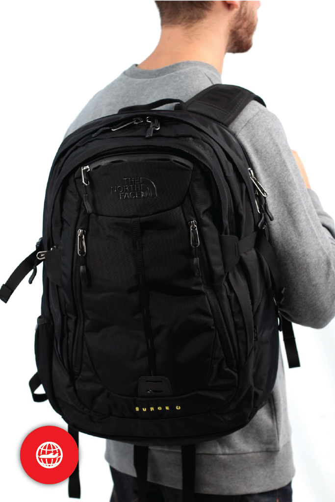 The North Face Surge II Charged - Bagstra