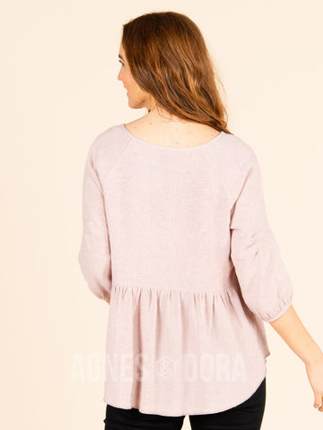 Agnes & Dora™ Collective Top Rose