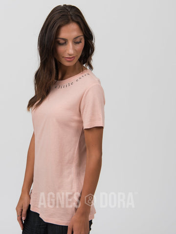 "Agnes & Dora™ Graphic Tee Rose Gold ""A Little Extra"""