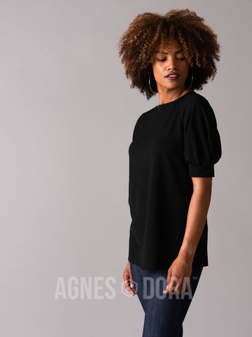 Agnes & Dora™ Elle Top Black ONESIE SALE