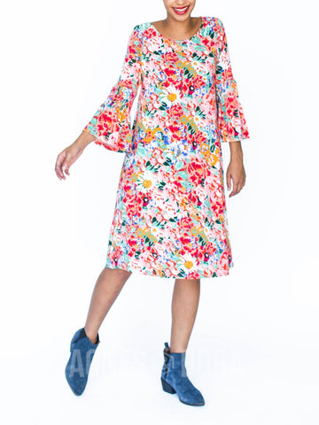 Agnes & Dora™ Bloom Dress Bloom Allover Print